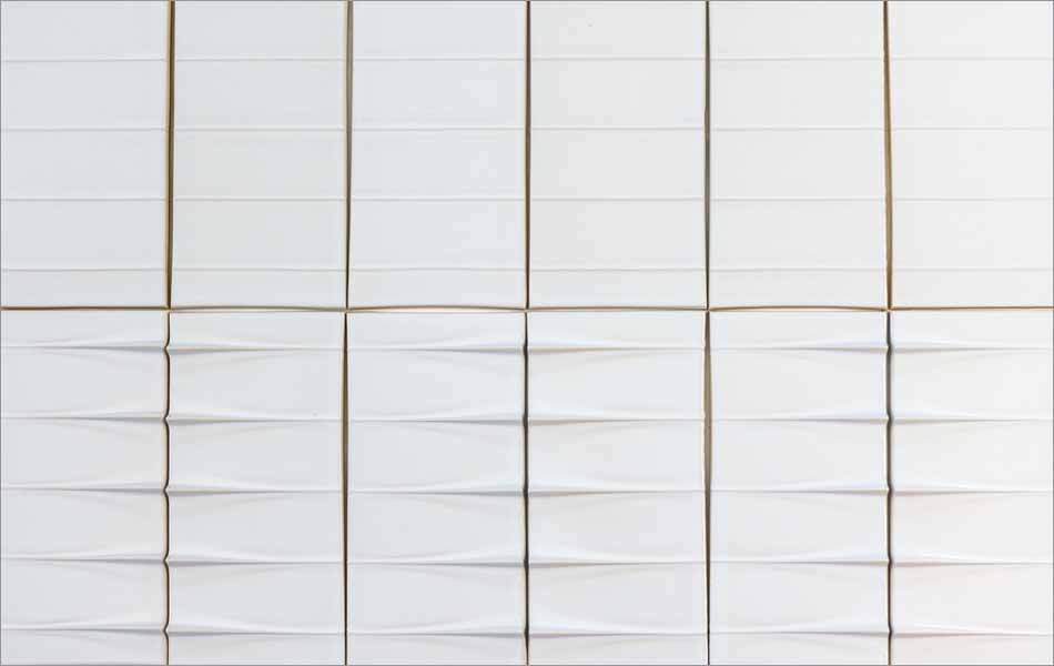 modern dimensional wall tile flight
