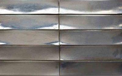 ModCraft dimensional tile Roundouse in stannic glaze