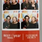 Photo of ModCraft owners at Interior Design Best of Year party