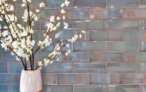 Dimensional wall tile MaryLine